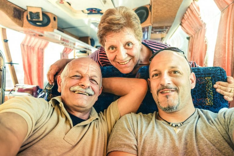 travelling with seniors
