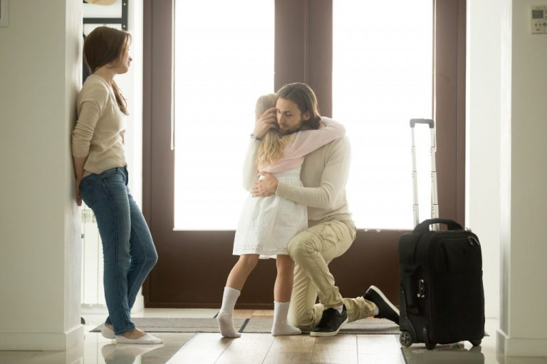 father leaving
