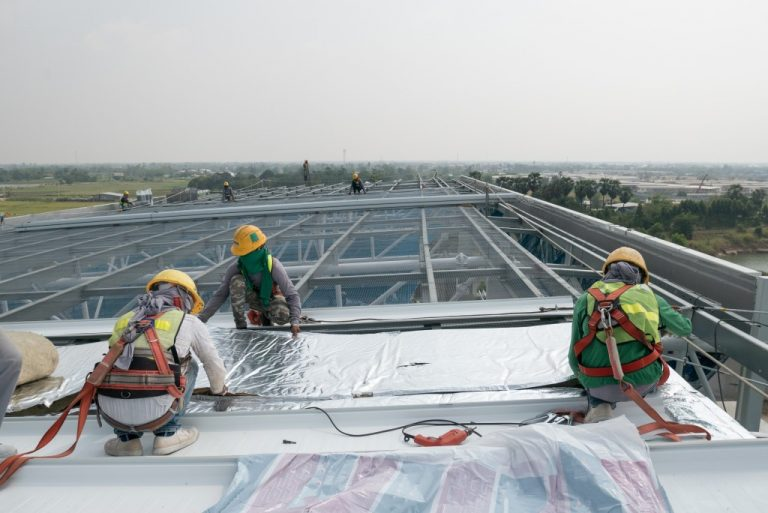 commercial roofing construction