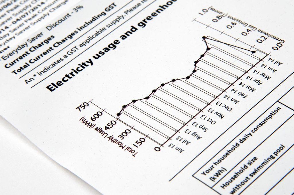 electric bill report