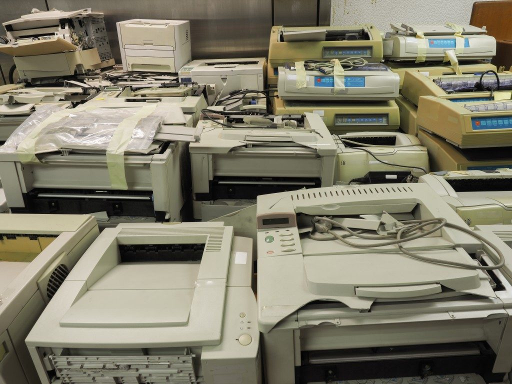 old office electronics