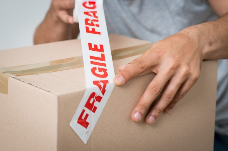 boxing a fragile item