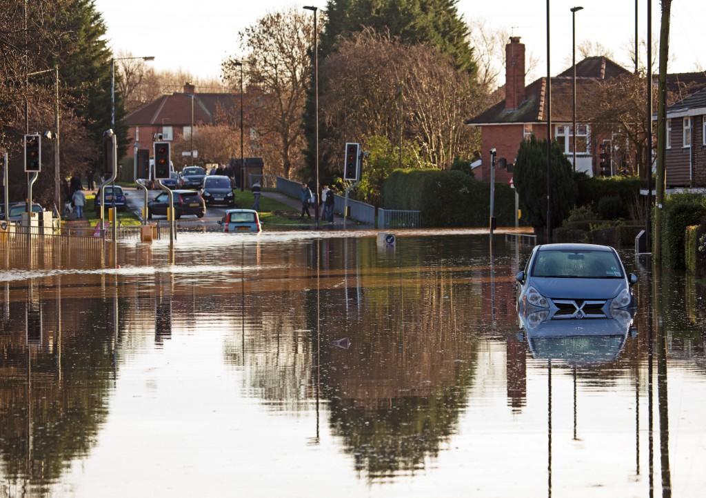 flood in neighborhood