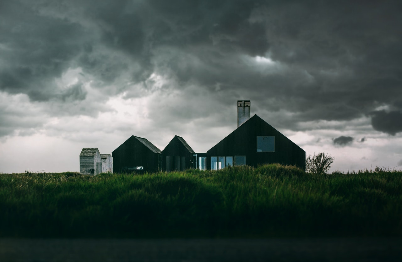 home before a storm