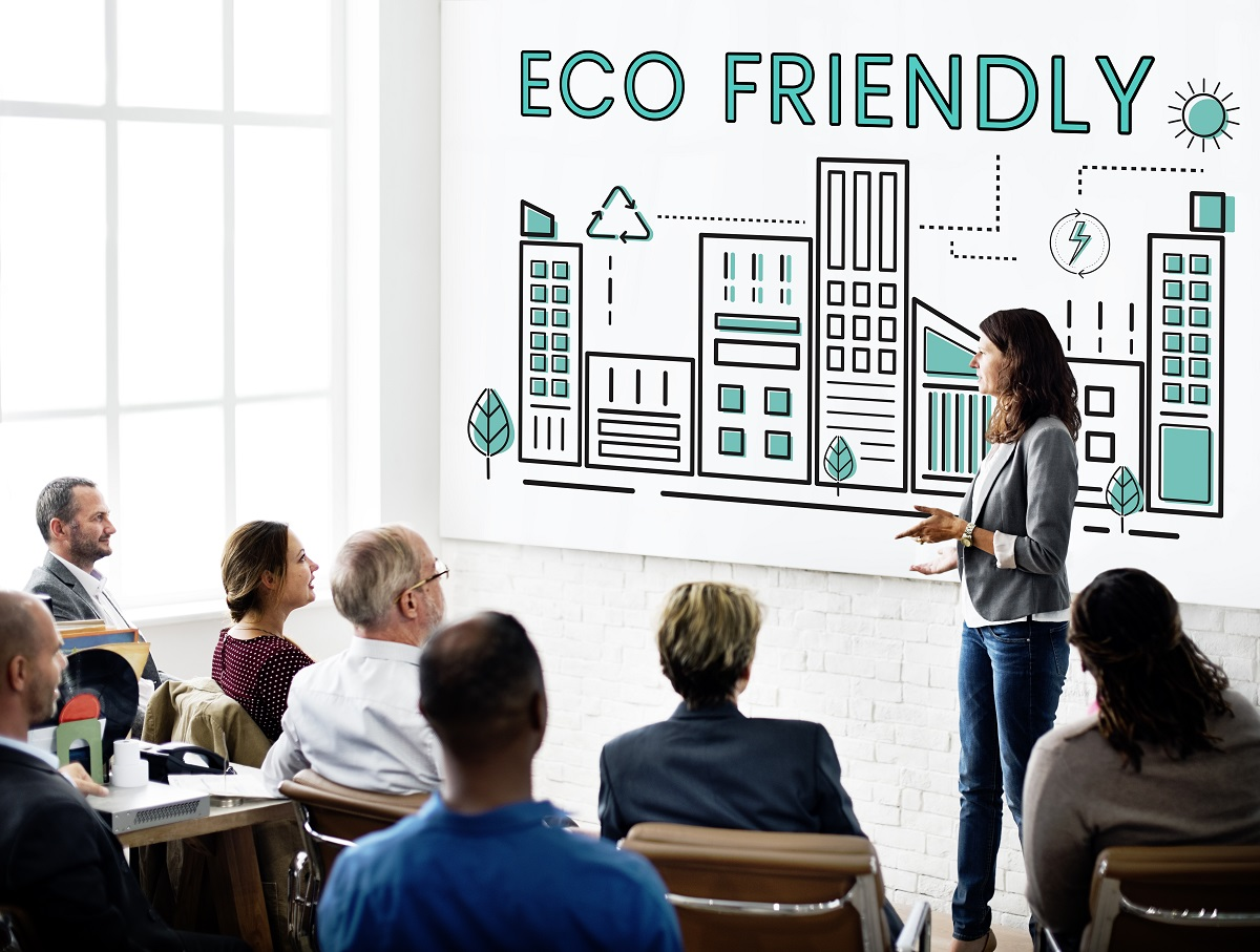 eco friendly business discussion