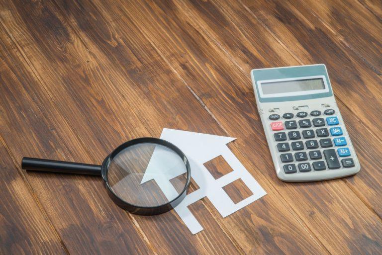home maintenance budget concept
