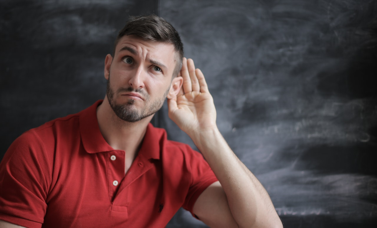 man lost his hearing