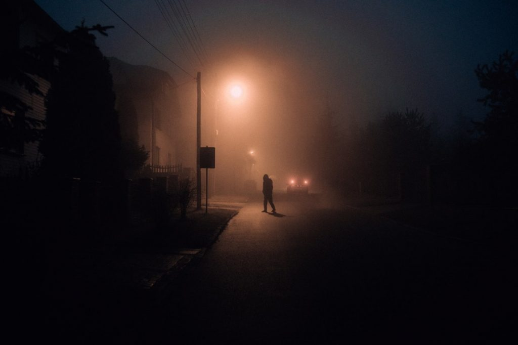person in the street