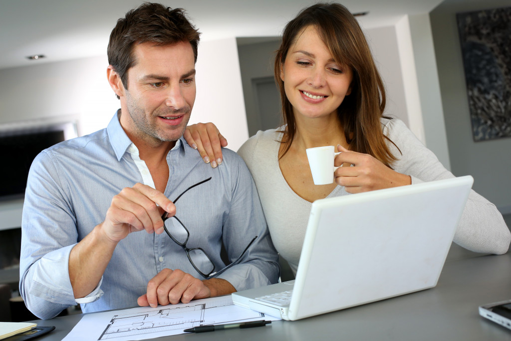 Couple planning on home