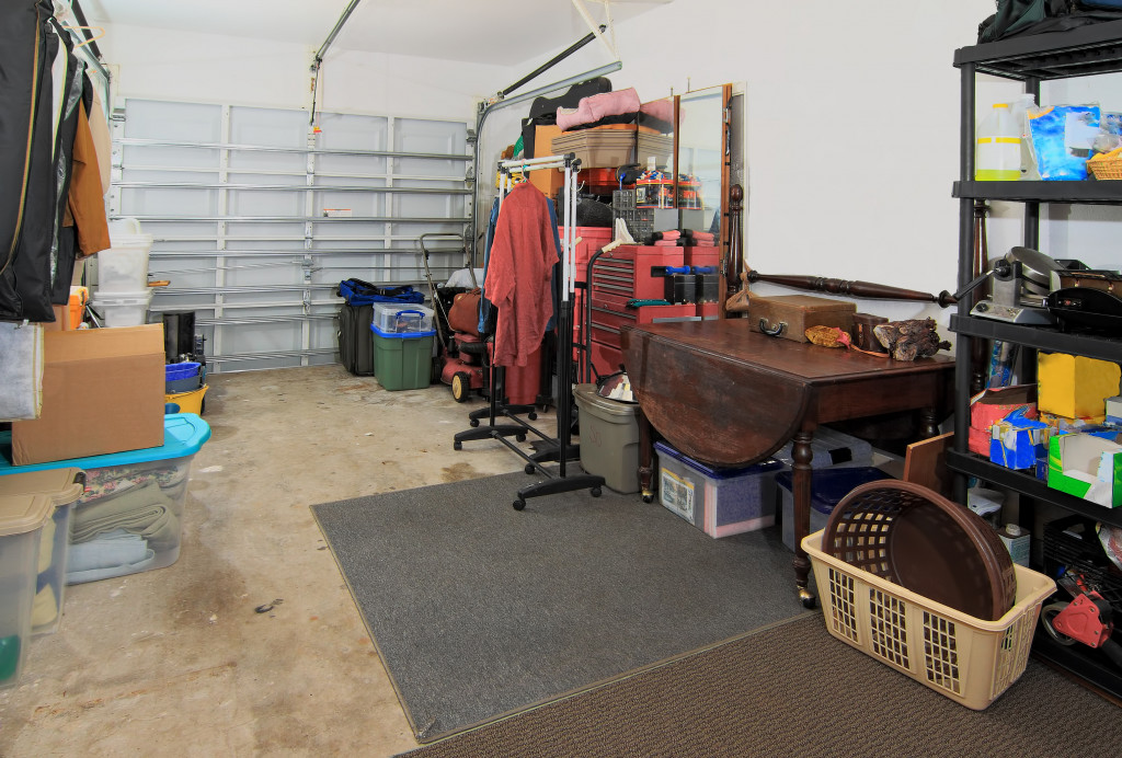 not so cluttered garage